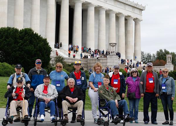 Korean,  Lincoln,  Vietnam Memorials May 2017