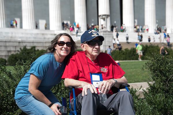 Korean,  Lincoln,  Vietnam Memorials September 2017