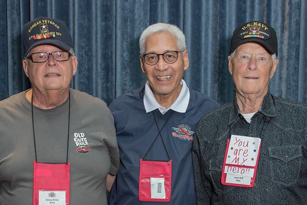 Portraits of Veterans September 2017