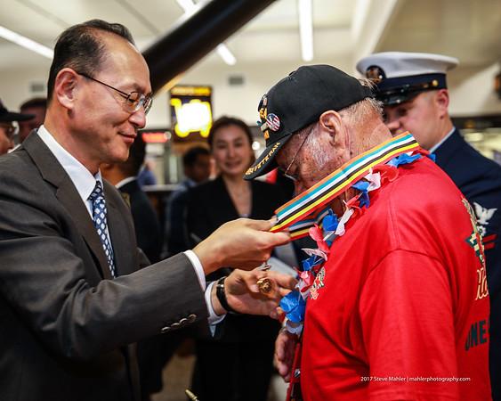 South Korean War Medal Ceremony September 2017
