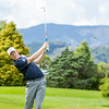 """Henry Spring hitting a ball on the 2nd hole on Practice Day 1 of the Asia-Pacific Amateur Championship tournament 2017 held at Royal Wellington Golf Club, in Heretaunga, Upper Hutt, New Zealand from 26 - 29 October 2017. Copyright John Mathews 2017.    <a href=""""http://www.megasportmedia.co.nz"""">http://www.megasportmedia.co.nz</a>"""