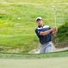 """Denzel Ieremia from New Zealand on Practice Day 1 of the Asia-Pacific Amateur Championship tournament 2017 held at Royal Wellington Golf Club, in Heretaunga, Upper Hutt, New Zealand from 26 - 29 October 2017. Copyright John Mathews 2017.    <a href=""""http://www.megasportmedia.co.nz"""">http://www.megasportmedia.co.nz</a>"""