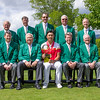 """Members of the Masters together with Yuxin Lin from China and his trophy after winning the Asia-Pacific Amateur Championship tournament 2017 held at Royal Wellington Golf Club, in Heretaunga, Upper Hutt, New Zealand from 26 - 29 October 2017. Copyright John Mathews 2017.    <a href=""""http://www.megasportmedia.co.nz"""">http://www.megasportmedia.co.nz</a>"""