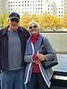 Frank and Kris at Ground Zero