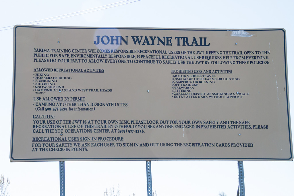 John Wayne Trail, Army West<br /> Iron Horse Trail State Park<br /> Boylston Road