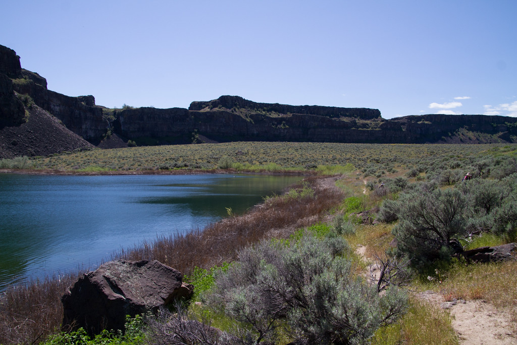 Dusty Lake Hike<br /> Ancient Lakes Area, Quincy