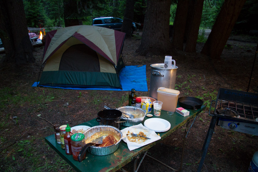 Dancing in the Wilderness Camp Out<br /> Hell's Crossing Campground<br /> Chinook Pass Highway