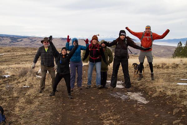 2017-11-19 Black Canyon, Wenas Valley, Bron Yr Aur Hiking Club