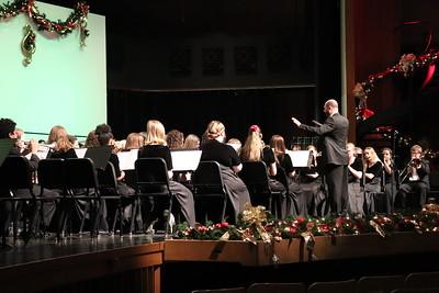 WAHS band director Todd Kendall conducts.