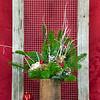 #14 Wooden Pallet Tall Planter