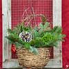 #9 Wicker Basket Large w/ Handle