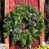 """#3 12"""" Round Rustic Wreath"""