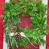 "#2 12"" Sqaure Wreath"