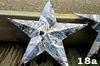 "#18a Hand Dipped 12"" Barn Star"