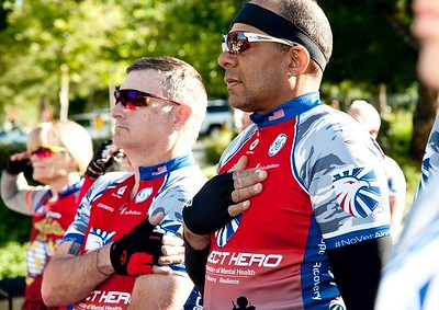 Injured Veterans, First Responders and their supporters came out to ride the 2017 Honor Ride Sacramento. Project Hero, a 501(c)3 non-profit organization, is dedicated to helping Veterans and First Responders affected by PTSD, TBI, illness and injury achieve rehabilitation, recovery and resilience in their daily lives.