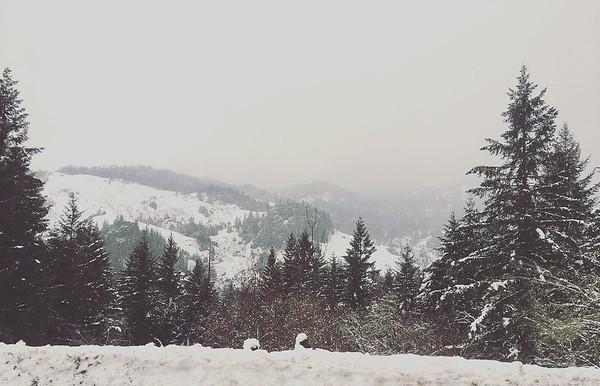 2017 Humboldt County snow