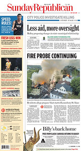 The Waterbury Sunday Republican - Cover 5-21-17
