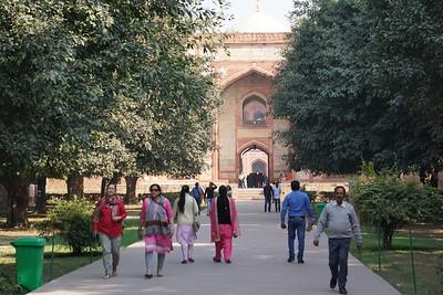 Humayan's tomb, Delhi, India
