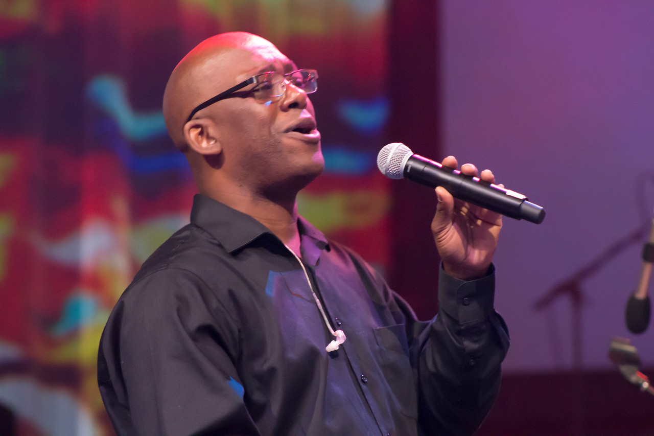 Francis Wyatt sings at The Commissioning and Ordination Service at the 2017 INUMC Annual Conference in Indianapolis.