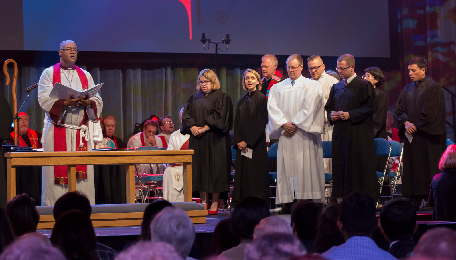 The Commissioning and Ordination Service at the 2017 INUMC Annual Conference in Indianapolis.
