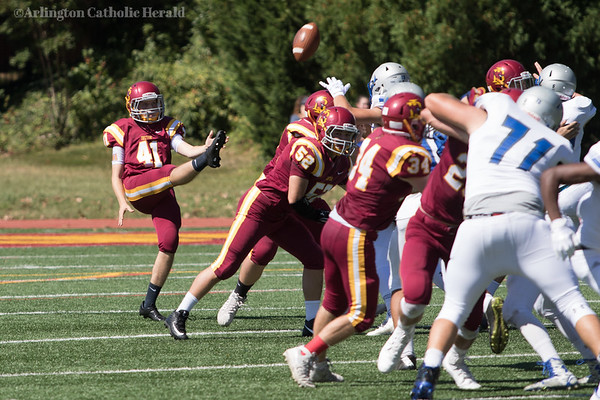 Football: O'Connell vs. Ireton Sept. 23, 2017
