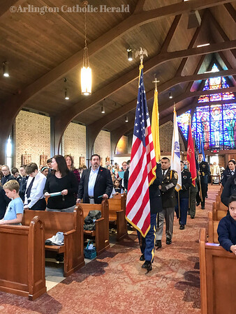 St. Louis School Veteran's Day Mass