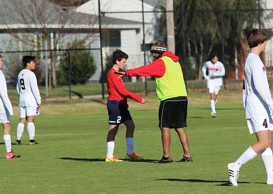 2017 Huntsville High Soccer Admin Day. JV vs. Varsity Scrimmage. (credit: Sayuri Beltran)