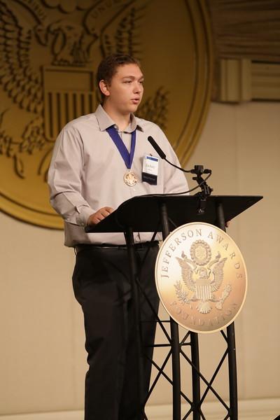 WJAC Media Partner winner Zachary Bloom
