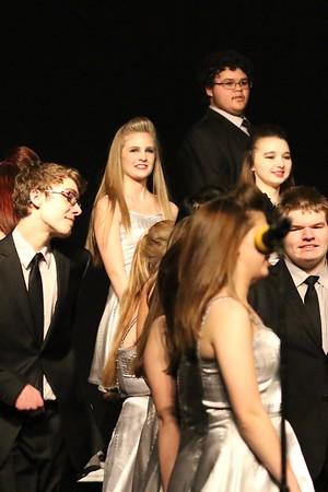 Emily in Jefferson Ovation at Jefferson Show Choir Invitational 3/3/17