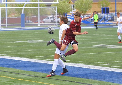 JHS Soccer vs Bingham