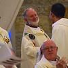 Fr. Tim receives congratulations