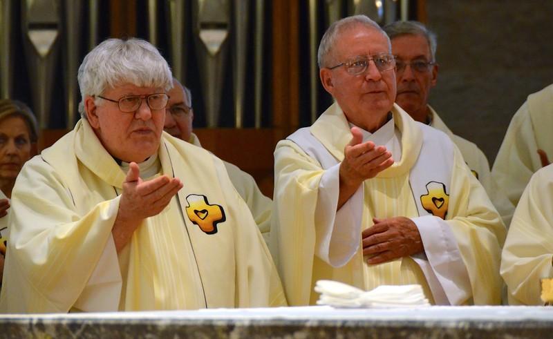 Fr. Chuck and Fr. Leonard