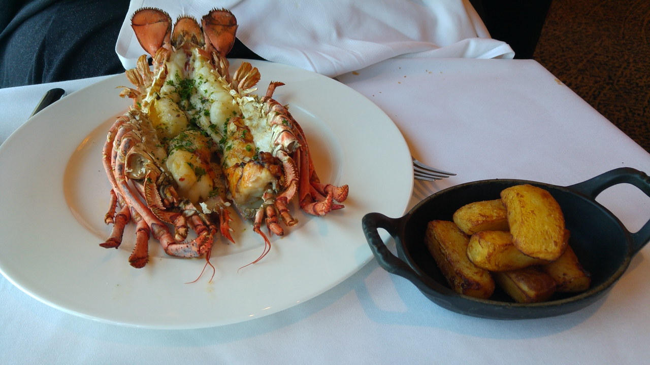 P&O Arcadia Ocean Grill Whole Lobster