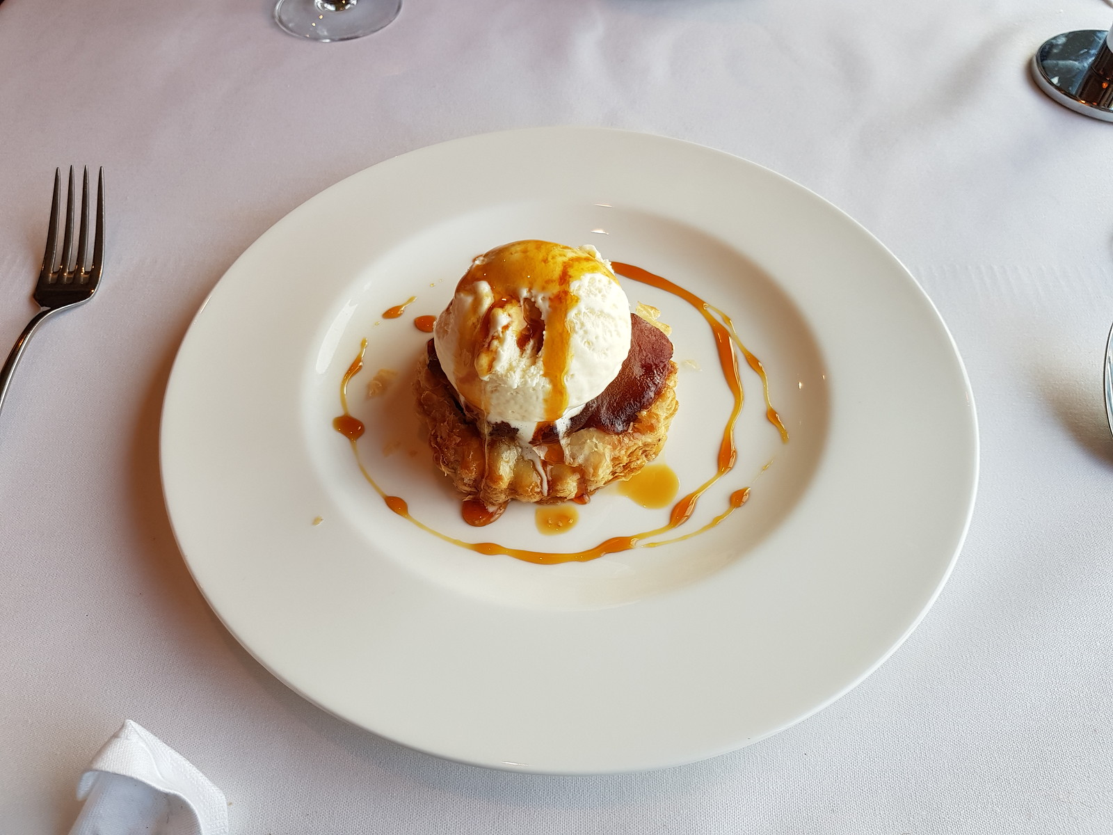 P&O Arcadia Ocean Grill Apple Tart Tatin