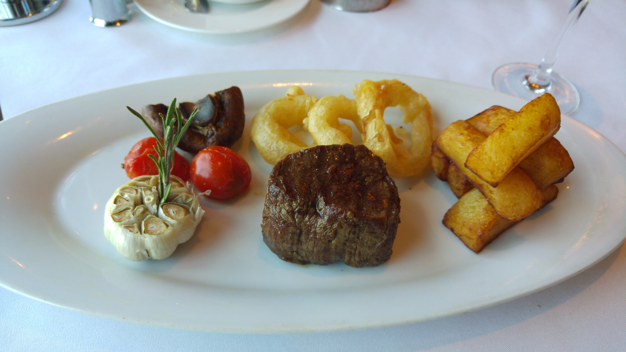 P&O Arcadia Ocean Grill Fillet Steak