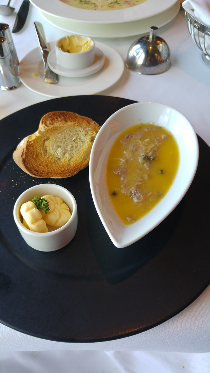 P&O Arcadia Ocean Grill Potted Duck Rillette