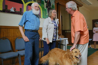 IMG_0277 hiram allen , retired town treasurer Carolyn thrombley, bob and chloe