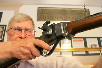 IMG_5892 thompson and sharps rifle