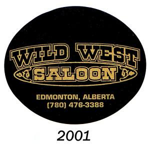 wild west logo - 2001