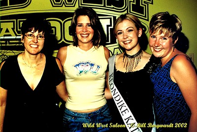 Correen Bolt, Lisa Brokop, Samantha King, Melanie Switzer - Wild West - July 2002 -49