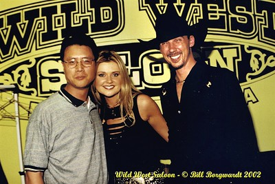 Davis Cho, Beverley Mahood, John Landry - Wild West - May 2002 -89