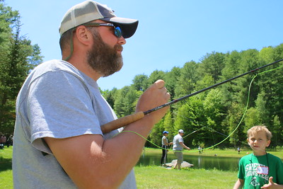 IMG_3213 brian burkholder of barnard, and with Trout Unlimited,,ties on a fly