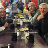 Breakfast with Chad, Thad and Terry Langford in Bozeman, early April 2017.