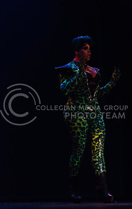 The K-State Drag Show in McCain Auditorium on Feb. 3, 2017. (Emily Starkey | The Collegian)