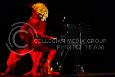 The K-State Drag Show in McCain Auditorium on Feb. 3, 2017. (Emily Starkey   The Collegian)