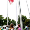 Members of local 4-H clubs raised the American, state and 4-H flags at the Kendall County Fairgrounds on Thursday, Aug. 3, as part of the opening ceremony for the fair's 25th season.