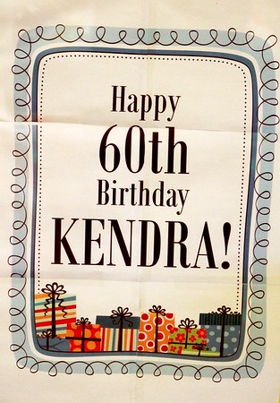 2017 - Kendra's 60th Birthday