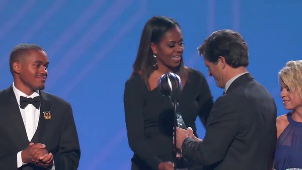 Shriver ESPY Acceptance Speech