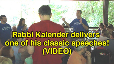 Rabbi Kalender delivers one of his classic speeches!