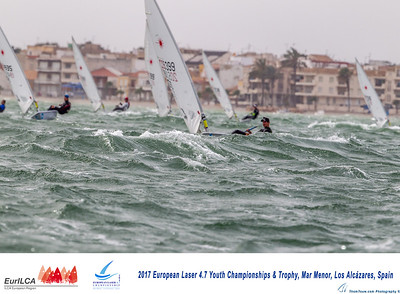 European Laser 4.7 Youth Championships Spain Murcia 2017